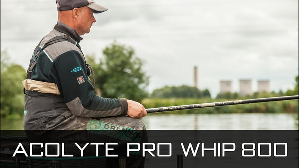 Drennan Acolyte Pro Whip 8m + spare top three