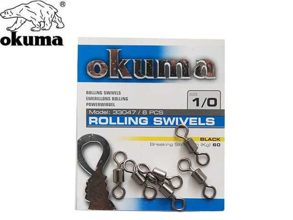 Okuma Rolling Swivels