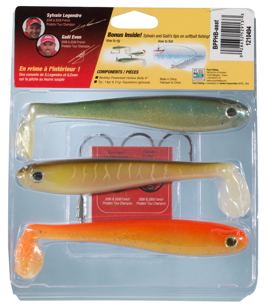 PowerBait® Pro Pack Hollow Belly