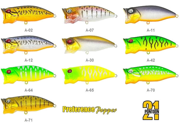 Pontoon 21 Preference Popper 6.5cm 10.5g - VIVADO