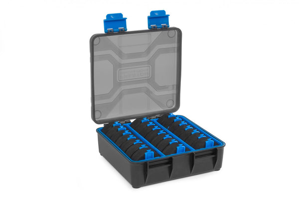 Preston Innovations Revalution Storage Box include 21 spools