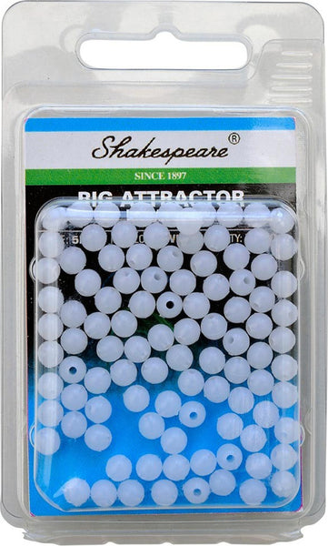Shakespeare® Rig Attractor Beads 5mm - White