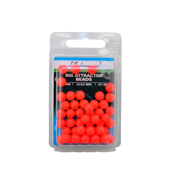 Shakespeare® Rig Attractor Beads 8mm - Red
