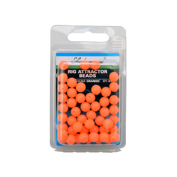 Shakespeare® Rig Attractor Beads 8mm - Orange