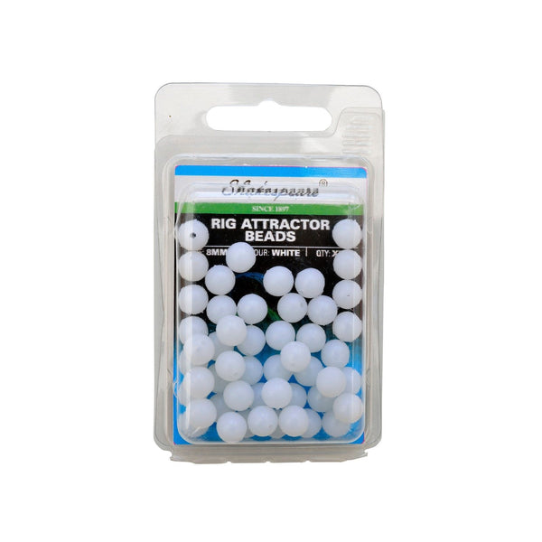 Shakespeare® Rig Attractor Beads 8mm - White