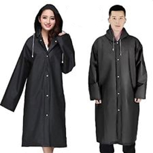 Raincoat Adult Waterproof EVA Material with Hood