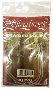 Silverbrook Braided Monofilament Leader Loops Pkt 3