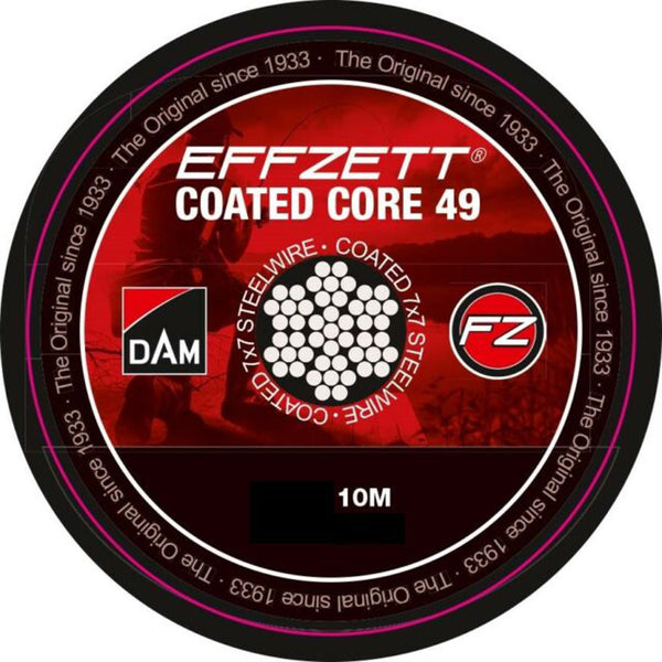 DAM Effzett Coated Core 49 STEELTRACE