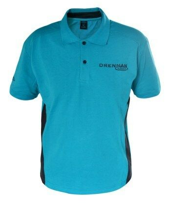 Drennan Polo Aqua colour T-shirt