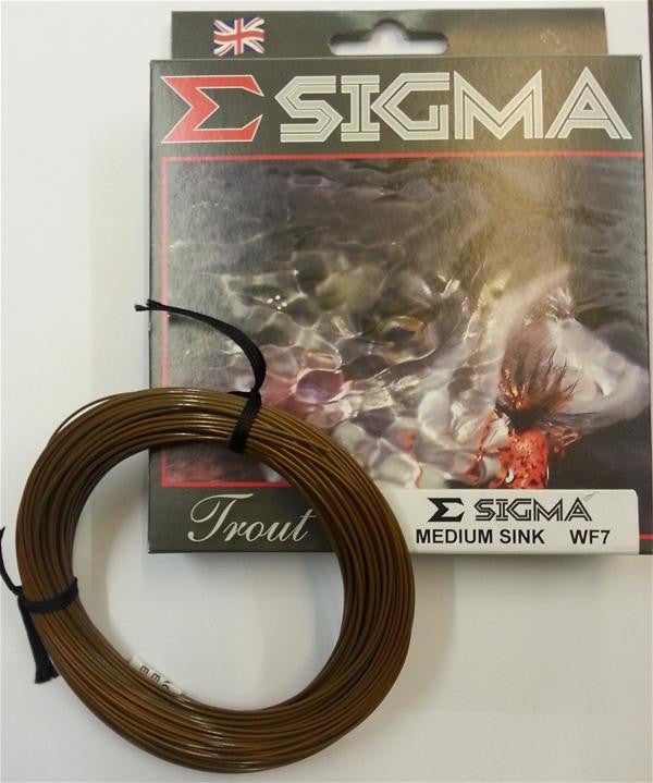 Shakespeare® Sigma Fly Line Medium Sink WF