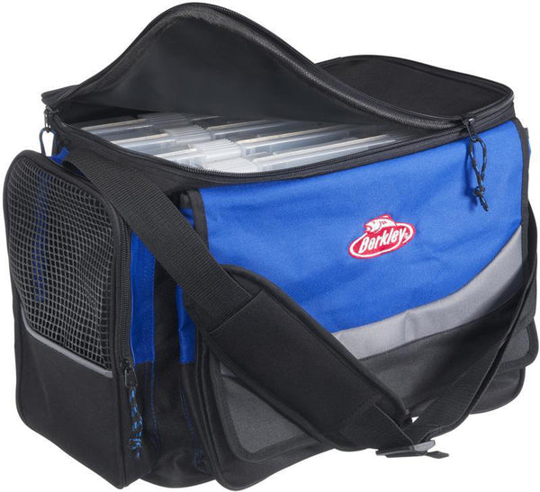 Berkley® System Bag XL Blue/Grey/Black + 4 Boxes