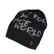 Savage Gear Savage World Beanie Black