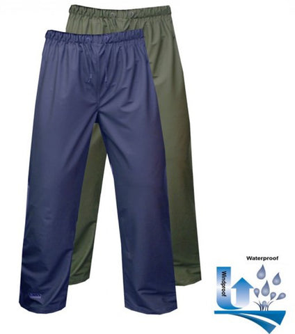 Vass-Tex 170 Performance Lightweight Waterproof Trouser - Green