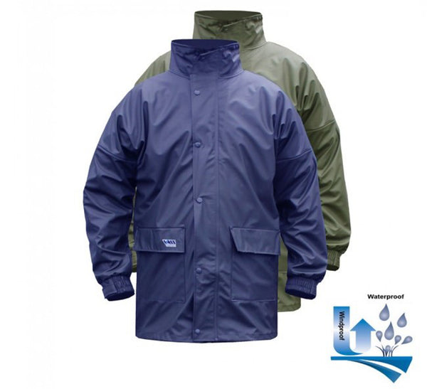 Vass-Tex 170 Performance Lightweight Waterproof Jacket - Green