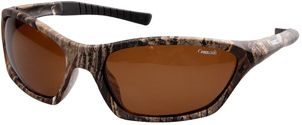 Prologic Max5 Carbon Polarized Sunglasses - Amber (Sun and Clouds)