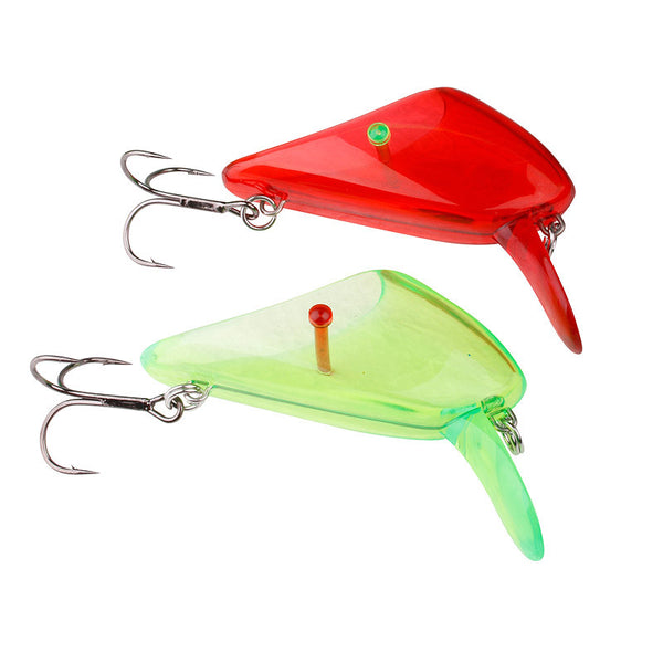 Savage Gear 4Play Lip Scull 2 pcs UV Red / Green