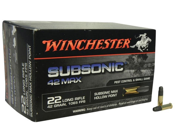Winchester Subsonic .22LR  42gr