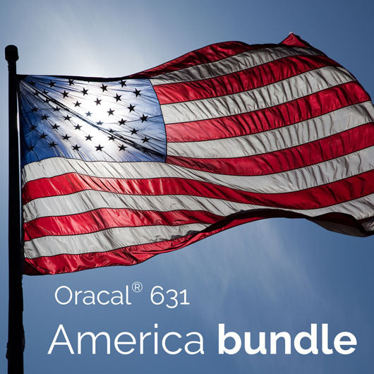 Oracal® 631 America Bundle