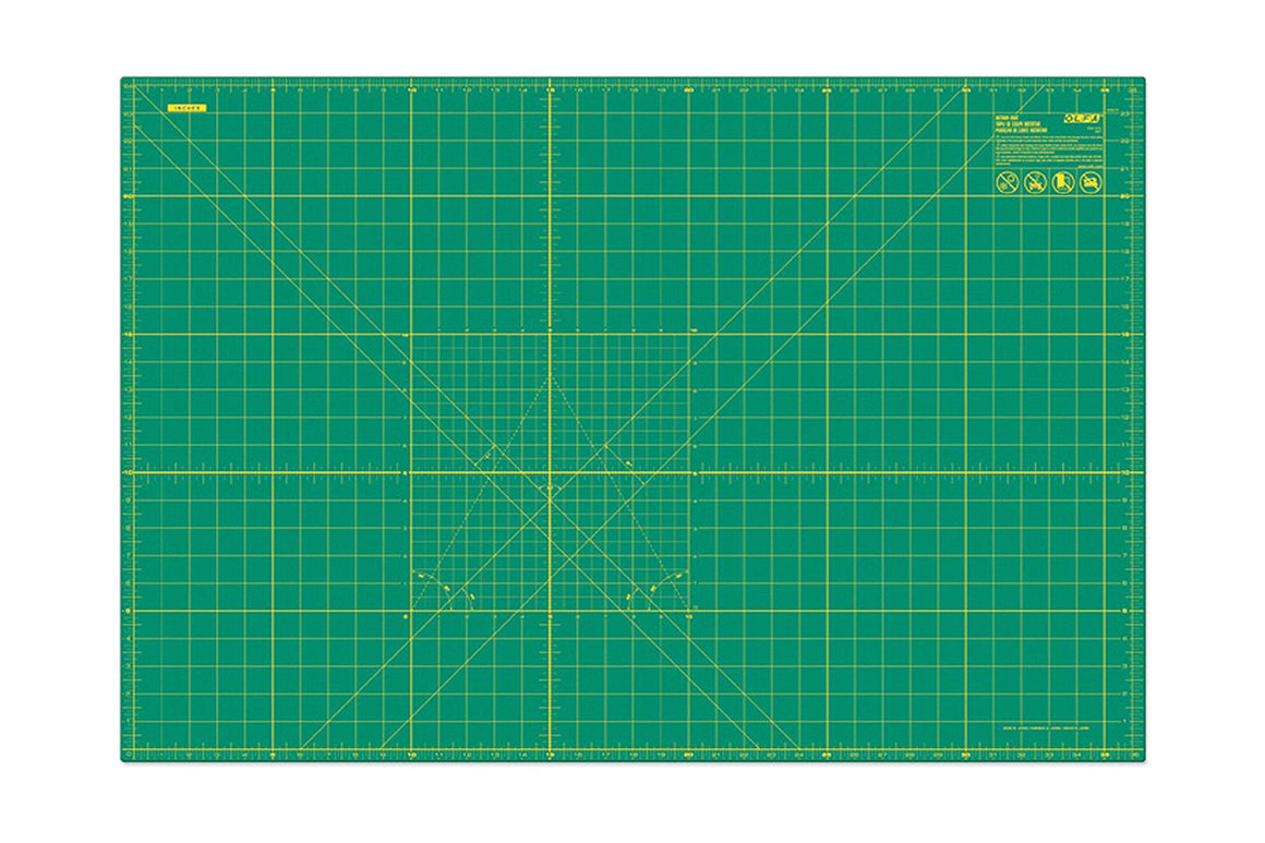 "OLFA Green Cutting Mat 24""x36"""