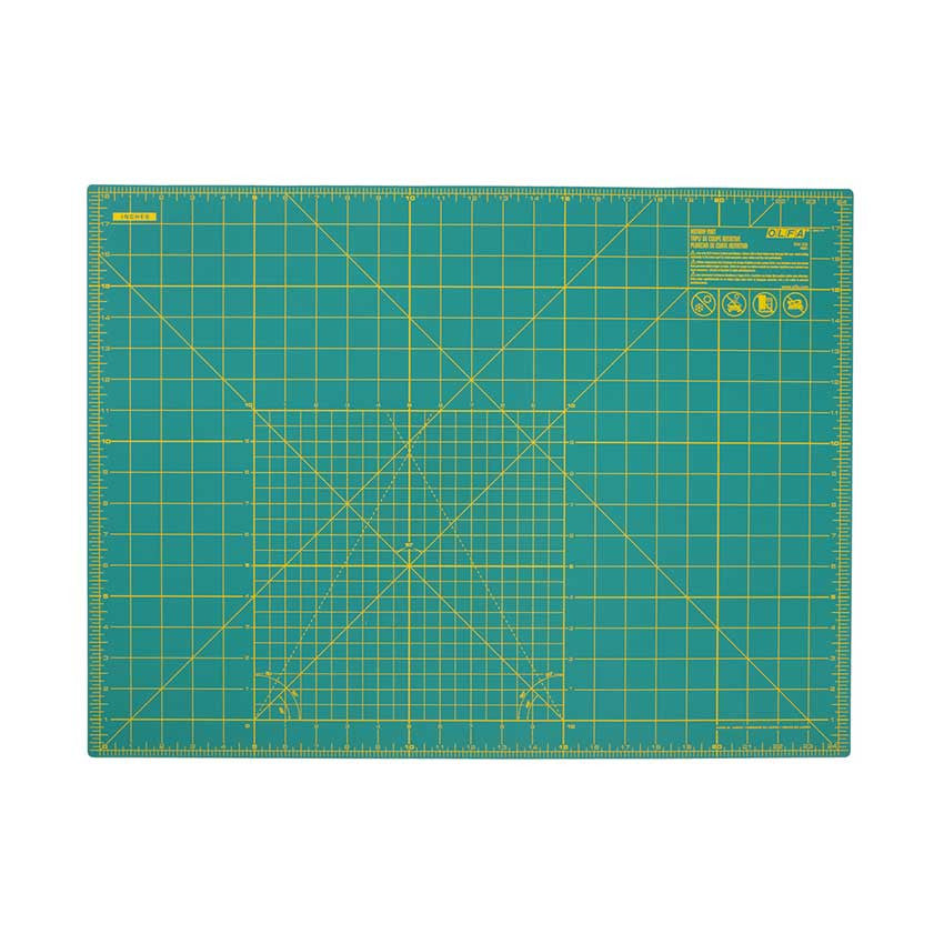 "OLFA Double-Sided Rotary Mat 18""x24"""