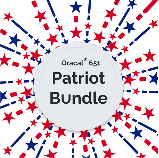 Oracal® 651 Patriot Bundle