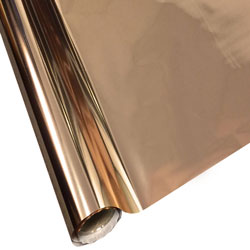 "StarCraft Electra Rose Gold Foil 12"" x 25 ft Roll"