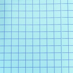 "Clear Medium Tack Transfer Tape with Blue Grid Release Liner 12"" x 12"""