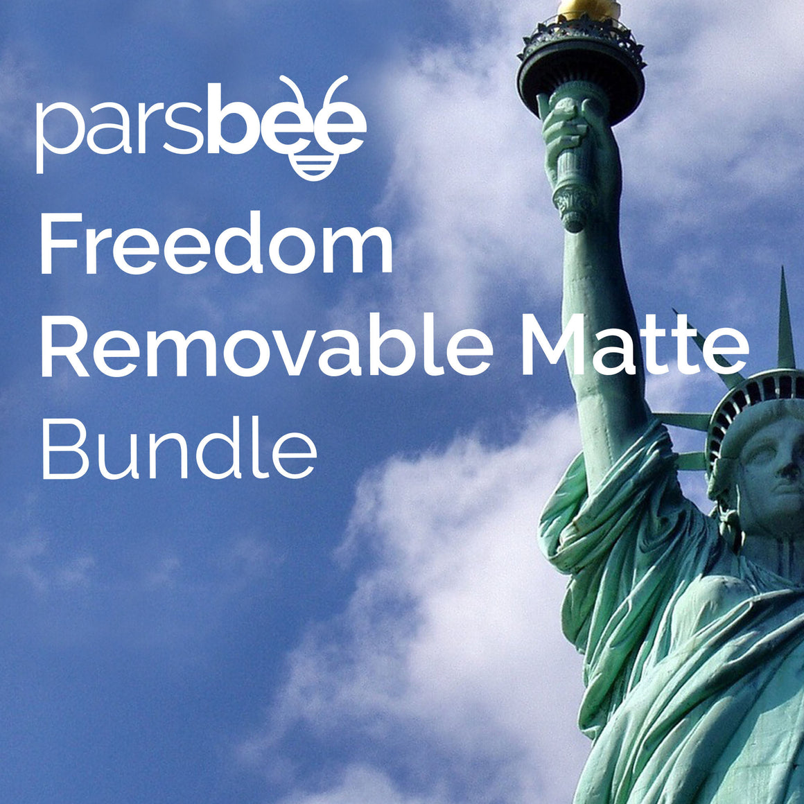 Parsbee Freedom Removable Matte Bundle