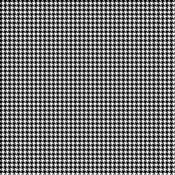 "Ain't Nothing But a Houndstooth: Permanent Adhesive 12"" x 12"" Sheet"