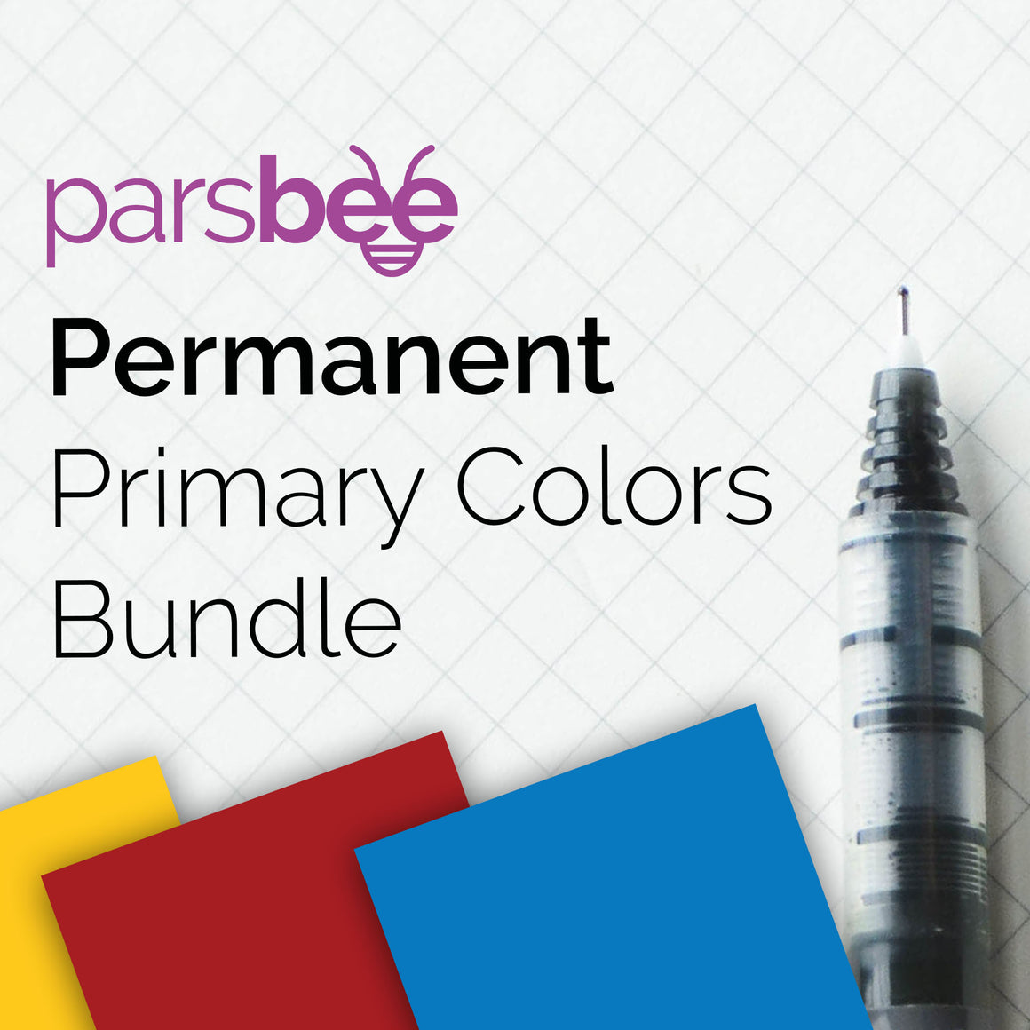 Parsbee Permanent Gloss Primary Colors Bundle