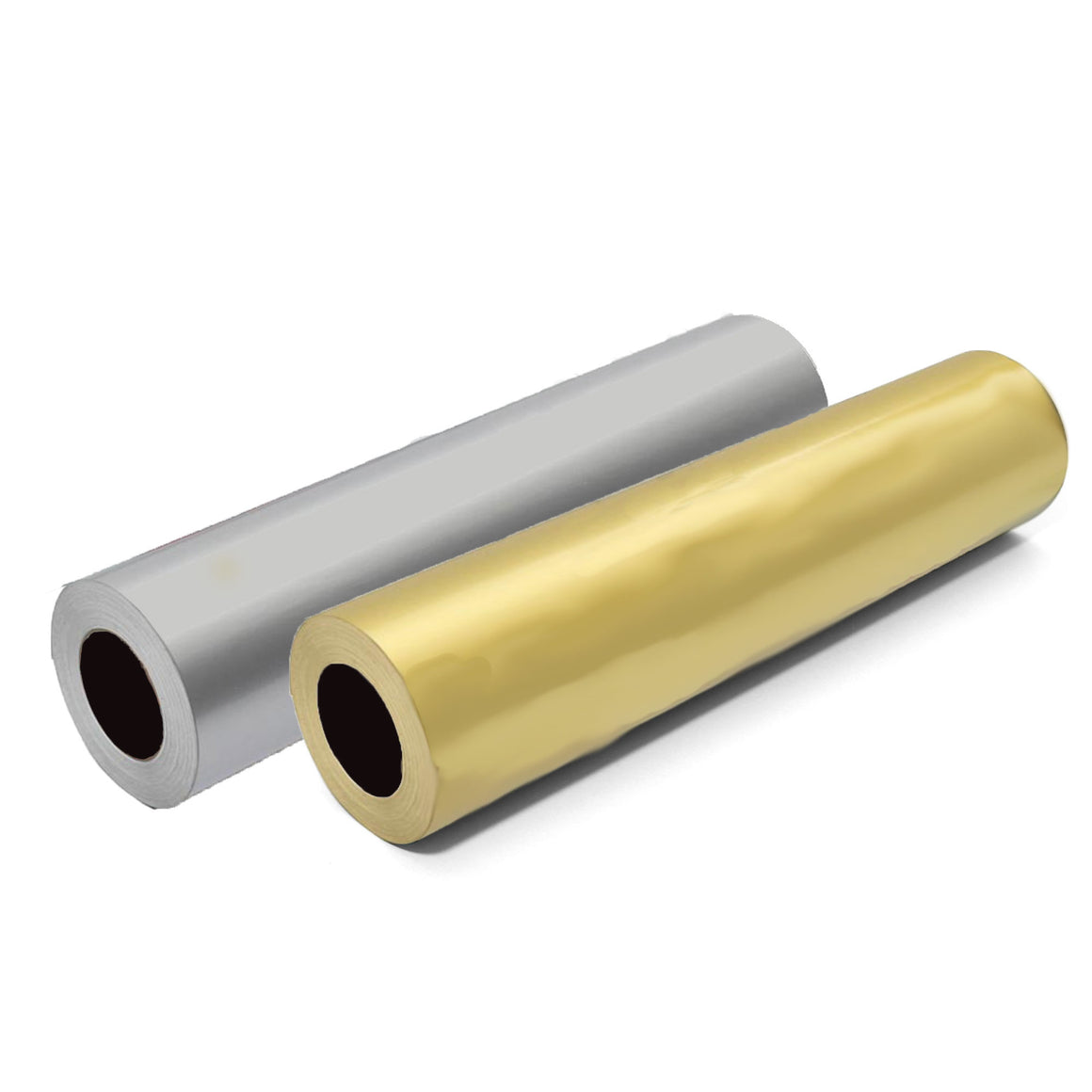 Parsbee Matte Silver & Gold Roll Bundle