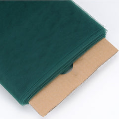 Hunter Green 54 Inch Premium Tulle Fabric Bolt ( W: 54 inch | L: 40 Yards )
