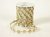Flower Braid Ivory with Gold Edge ( Unisize )