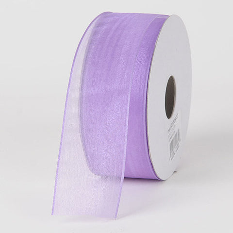 Organza Ribbon Thin Wire Edge 25 Yards Orchid ( 1-1/2 inch | 25 Yards )