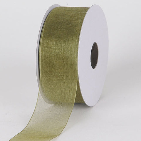 Sheer Organza Ribbon Old Willow ( 5/8 inch | 25 Yards )