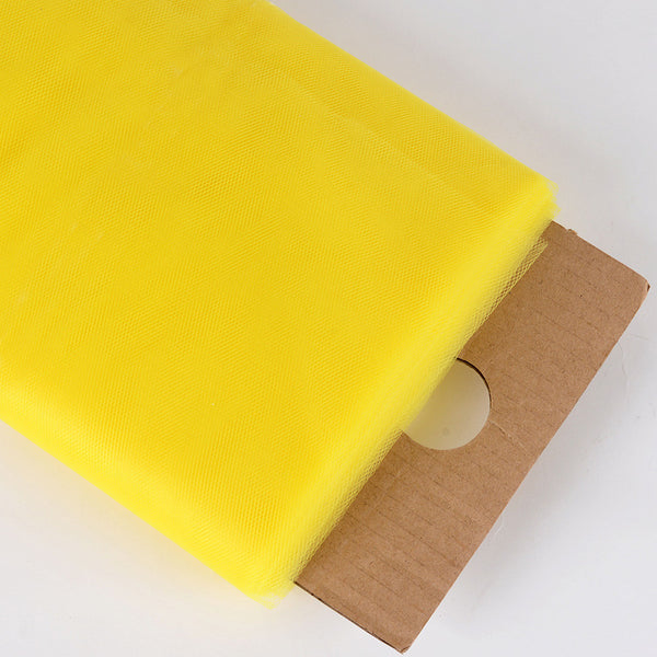 Yellow 54 Inch Premium Tulle Fabric Bolt ( W: 54 inch | L: 40 Yards )