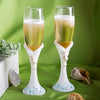 Wedding Toasting Flute Finishing Touches Collection beach themed champagne flutes ( Set of 2 )