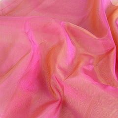 Two Tone Organza Overlays Fuchsia Green ( W: 28 inch | L: 108 Inches )