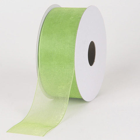 Sheer Organza Ribbon Kiwi ( 2-1/2 inch | 25 Yards )