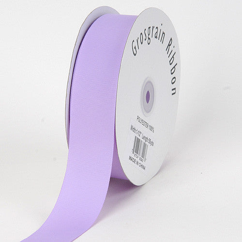 Grosgrain Ribbon Solid Color Lavender ( W: 5/8 inch | L: 50 Yards )