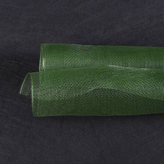 Floral Mesh Wrap Solid Color Spring Moss ( 10 Inch x 10 Yards )