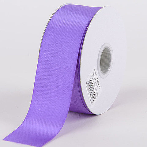 Satin Ribbon Double Face Purple ( W: 1-1/2 inch | L: 25 Yards )