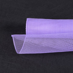 Floral Mesh Wrap Solid Color Lavender ( 10 Inch x 10 Yards )