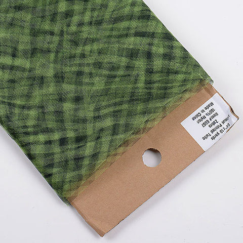 Animal Printed Tulle Bolt Zebra Apple Green ( W: 54 inch | L: 10 Yards ) -