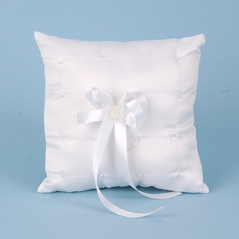 Ring Bearer Pillow White ( 7 Inch ) -