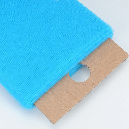 Turquoise Premium Glimmer Tulle Fabric ( W: 6 inch | L: 25 Yards )