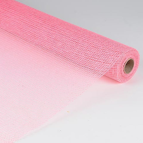 Natural Cotton Jute Pink ( 21 Inch x 6 Yards ) -