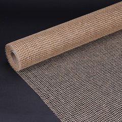 Natural Cotton Jute Light Gold ( 21 Inch x 6 Yards )