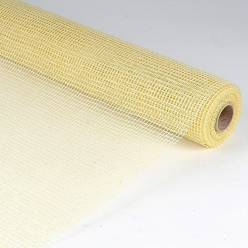 Natural Cotton Jute Ivory ( 21 Inch x 6 Yards )
