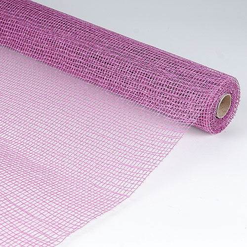 Natural Cotton Jute Colonial Rose ( 21 Inch x 6 Yards )